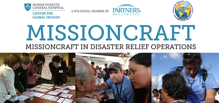 MISSIONCRAFT 2015: Disaster relief operations
