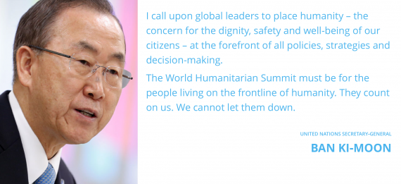 UN Secretary General Releases his Report on the World Humanitarian Summit